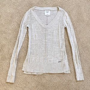 Abercrombie and Fitch Long Sleeve Knit Tunic
